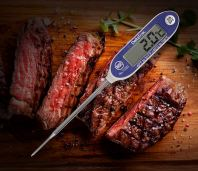 DeltaTrak FlashCheck® Jumbo Display Auto-Cal Digital Probe Lab Thermometer