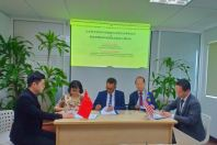 Intelligent Dredging Experimental Engineering  Agreement Signed between Malaysia & China companies