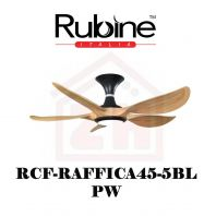 RUBINE Ceiling Fan RCF-RAFFICA45-5BL