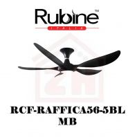 RUBINE Ceiling Fan RCF-RAFFICA56-5BL