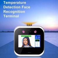 5 inch Touch Screen Face Recognition Scanner Body Temperature Detection.