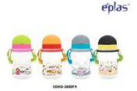 EPLAS-380ML BPA FREE KID'S BOTTLE WITH STRAW