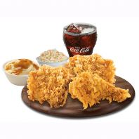 3-pcs Fried Chicken Combo