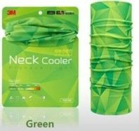 3M Neck Cooler (Green) Sun Protector High UV Protection Muffler Scarf