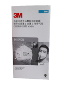 3M 9010VCN N95/KN95 DUST/MIST RESPIRATOR WITH VALVE (20EA/BOX)