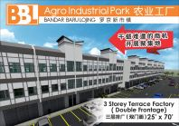 3 Storey Terrace Factory