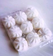 Handmade Mini Red Bean Bun - 9pcs