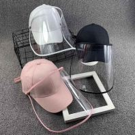 Kids Baseball Cap with Protective Face Shield