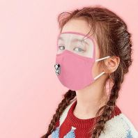 Kids cotton Face Mask with Eye-Shield & B30reathing Valve