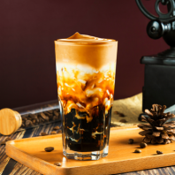 Brown Sugar Dalgona Coffee