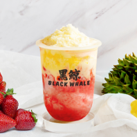 Fruity Durian-Strawberry Yogurt