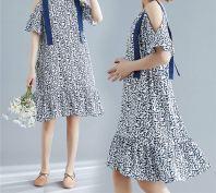 Sheisahero - Korea Fashion Drop Shoulder Dress 880002