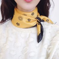 Korea Fashion Scarf Rose Printed