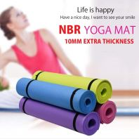 PREMIUM YOGA MAT (10MM EXTRA THICKNESS)