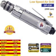 "GISON 3/8"" Low Speed Air Drill (2500 rpm) GP-330"