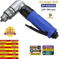 "GISON 3/8"" Air Angle Drill (1800 rpm) GP-835ADS"