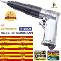 GISON Air Screwdriver (800 rpm, outer adjustable clutch) GP-861J1