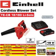 Einhell Codeless Blower with Battery Pack