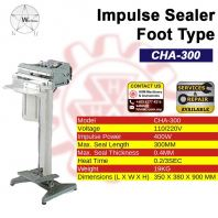 WU HSING Impulse Sealer Foot Type CHA-300