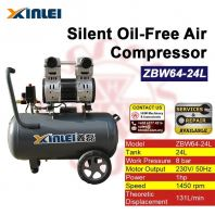 XINLEI Silent Oil-Free Air Compressor ZBW64-24L