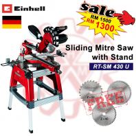 EINHELL Sliding Mitre Saw with Stand RT-SM 430 U (FREE 3IN1 SAWBLADE)