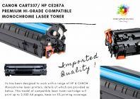 PREMIUM HI-GRADE CA CART 337/ HP CE287