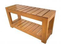 Wooden Bench 1 Tier Shoe Rack