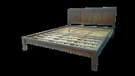 Bed Queen Size (Dark Walnut Color)