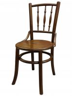 Kopitiam Dining Chair (Dark Walnut)
