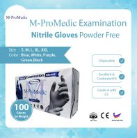 M-Pro Medic Nitrile Glove Powder Free @ CE certification