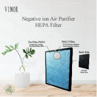 VINOR Negative Ion Air Filter Replacement HEPA Filter