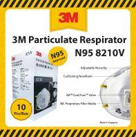 3M Particulate Respirator N95 8210V - 10 pcs per box