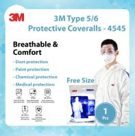 3M Type 5/6 Protective Coveralls - 4545 @ Anti Virus