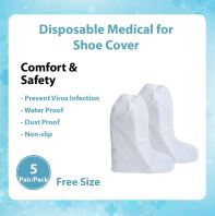 Disposable Medical Shoe Cover @ 5 Pair Per pack