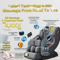 UltraEjau Massage + Treatment Chair @ Premium Enjoy With Low Payment