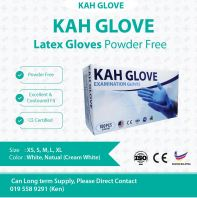 KAH Glove Latex Glove @ CE Certified