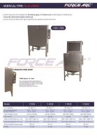 FORCE ARC VERTICAL TYPE FLUX OVEN