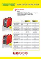 NEWREX INVERTER WELDING MACHINE TIG4000+TP4000
