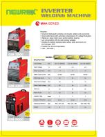 NEWREX INVERTER WELDING MACHINE GM3800+GM4200+GM5000
