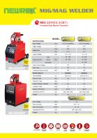 NEWREX INVERTER WELDING MACHINE IM4000EF+IM5000EF