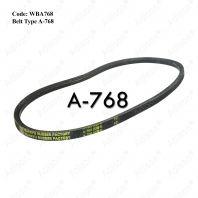 Code: WBA768 Belt Type A-768