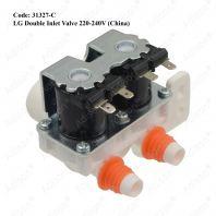 Code: 31327-C Double Valve for LG 220-240V (China)