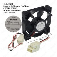 Code: 88242 Samsung Refrigerator Fan Motor 09232JS-12M-BT DC12V 0.16A 3Wire For RB30N4050B1/ME / RB30N4050S8/ME / RF62NEPN1/XME / RF62TBPN1/XME / RF67DEPN1/XME / RT19M300BGS/ME  / RT20FARVDSA/ME / RT22FARADSA/ME / RT25FARADSA/ME / RT25M4033S8/ME / RT29FARADSA/ME / RT32FARADSA/ME