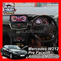 Mercedes Benz E Class W212 Pre Facelift - Touch Screen Android Monitor ( E200 / E250 / E300 / E350 / E400 / E43 / E63 )