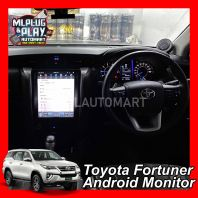 "Toyota Fortuner 2016-18 - 12.1"" Big Screen Touch Screen Android Monitor"