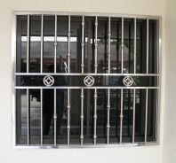 Stainless Steel Window Grille 白钢窗花