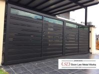 Steel Gate+Powder coated