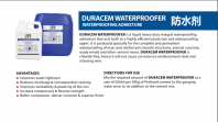 DURACEM WATERPROOFER