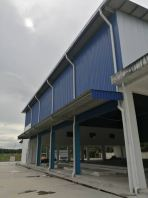 Gutter, Metal roof and downpipe works at Yong Peng, Johor Bahru