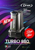 Dnor Tubro 800 Eco Motor Swing & Folding Autogate System